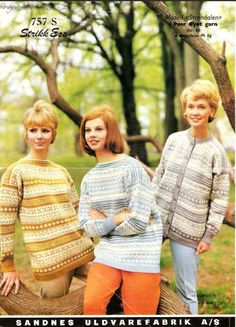 Hand Knitting, Knitting Patterns, Norwegian Knitting, 49er, Color Combinations, Knit Crochet, Arts And Crafts, Pullover, The Originals