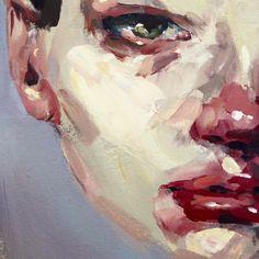 Elly Smallwood, Guache, Art Hoe, Art Sketchbook, Portrait Art, Face Art, Aesthetic Art, Figurative Art, Art Inspo