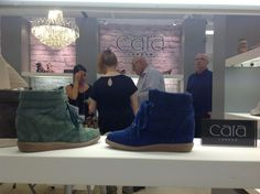 This is Cara London at #Pure34 in the Galley Hall on stand R314, love their #shoes!