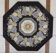 Quilts For Sale, Custom Quilts, Custom Wall, Floral Centerpieces, Cotton Fabric, Black Cream, Collaboration, Pattern, Environment