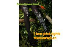 Love speical print tights www.sarach.cn