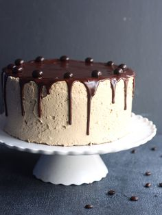 Chocolate Coffee Layer Cake from completelydelicious.com