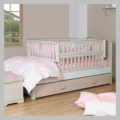 CAMA BLANCA EN MADERA CJ-05-100-AC Baby Boy Rooms, Baby Bedroom, Baby Room Decor, Baby Cribs, Kids Bedroom, Bed Designs With Storage, Kids Room Design, Baby Furniture, Kid Beds