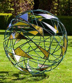 Metal Garden Spheres David Harber