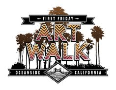 Oceanside Art Walk October 3 will be the next First Friday: Oceanside Art Walk.  This time we have a theme: Military  Take a look at the roster Artists and Happenings for October!