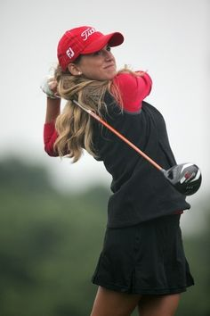 Picture of Belen Mozo Lpga Tour, Golf Attire, Hole In One, Ladies Golf, Sports Women, Golf Clubs, Winter Hats, Glamour, Profile Pictures