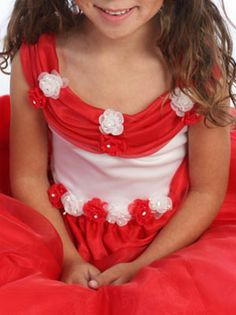 Are you're looking for a beautiful organza flower dress, check out our extensive collection at MyGirldress. Organza Flowers, Flower Dresses, Crochet Necklace, Neckline, Nice, Places, Floral, Check, Collection