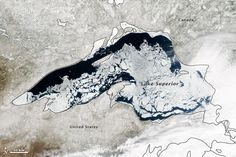 Lake Superior Is Basically In The Middle Of A Never-Ending Winter - April 25, 2014