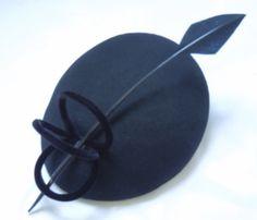 Kate's Dulwich Hat Black by GirlFabulosity on Etsy