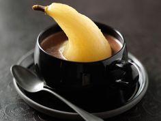 Découvrez la recette Délice poire chocolat sur cuisineactuelle.fr.
