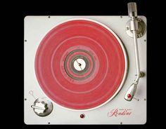 Rek-o-Kut Rondine turntable, 1958 ca (Todd Eberle, 2001)