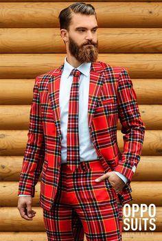 OppoSuits The Lumberjack Suit for Men