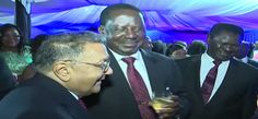 Video:Raila Odinga,Leaders and celebrities mingle during state banquet for Obama