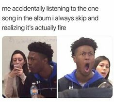 "This is me with The Room Where If Happens. I used to skip it every time because idk why but then one day I was listening to it in bed at like midnight and I was way to tired to go to skip it so I just let it play and I was like ""HOLY SHIT I LIVE THIS SONG WHAT THE FUCK THIS IS AMAZING"""