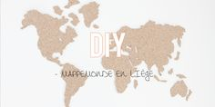 carte du monde en li ge pour accrocher des photos de nos voyages diy id es d co pinterest. Black Bedroom Furniture Sets. Home Design Ideas