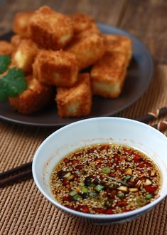 Recipe: Asian sesame-soy dipping sauce for tofu