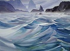 Who isn't fascinated by the movement, power and incredible beauty of surging water? A career lives in this subject! Watercolor Ocean, Watercolor Paintings, Watercolors, Mike Bailey, Boat Art, Learn To Paint, Art Boards, Chop Chop, Boats