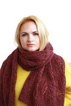 Veta's   Knitting  :): Afton Scarf