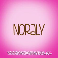 Noraly  (Voor meer inspiratie, en unieke geboortekaartjes kijk op www.heyboyheygirl.nl)
