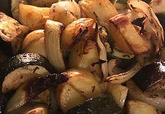 Ovengegrilde groentjes met bonenpuree