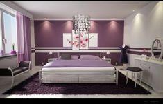 Dormitorio Lila y Violeta