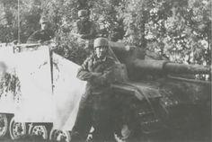 Fallschirm StuG brigade, Lituania, 12.8.1944 - pin by Paolo Marzioli