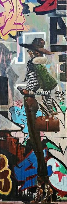 """Mahogany"" by Frank Morrison African American Artist, African Art, Frank Morrison Art, Maori Art, Black Artwork, Black Women Art, Disney Art, Urban Art, Art And Architecture"