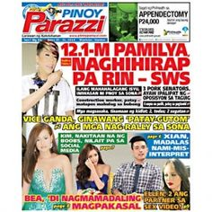 Pinoy Parazzi Vol 7 Issue 94 July 30 – 31, 2014 http://www.pinoyparazzi.com/pinoy-parazzi-vol-7-issue-94-july-30-31-2014/