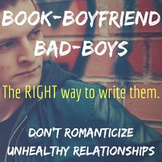 Lauryn April Writes: Writing Bad-Boys and Unhealthy Relationships: So, if you want to write a bad-boy, how do you make his redemption arc believable and stay away from that toxic relationship scenario?