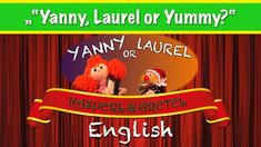 """Yanny, Laurel or Yummy? Gretel and Kasperl try to solve the """"Yanny or Laurel"""" mystery. Puppets, Have Fun, Mystery, Best Friends, Youtube, Snoopy, Challenges, This Or That Questions, Vacation"""