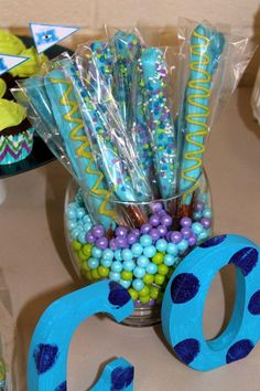 New baby first birthday party ideas monsters inc Ideas Monster 1st Birthdays, Monster Inc Party, Monster Birthday Parties, First Birthday Parties, First Birthdays, Monsters Inc Baby Shower, Monster Baby Showers, Second Birthday Ideas, Baby 1st Birthday