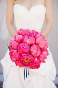 pink peonies peony wedding bouquet gorgeous wedding boquet pink wedding boquet flower bouquet wedding party blog