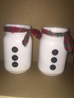 Snowman Mason Jar - christmas decor - christmas gifts - holiday centerpieces - stocking stuffers - snowman gifts