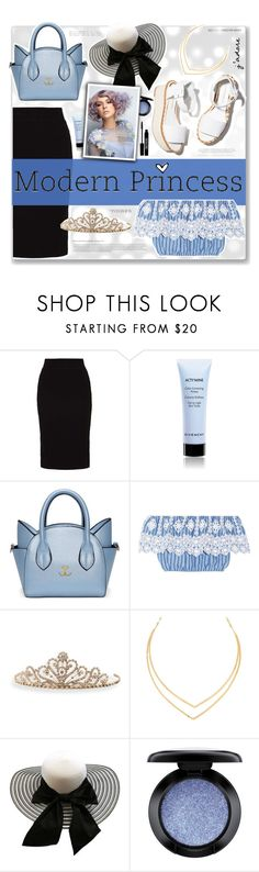 """""""Modern Princess"""" by fashionablemy ❤ liked on Polyvore featuring even&odd, Paloma Barceló, Givenchy, Miguelina, BillyTheTree, Lana, Lord & Berry, MAC Cosmetics, modern and princess"""