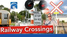 Railway Crossing Signs   Pass a Road Test