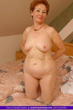 Sexy russian granny