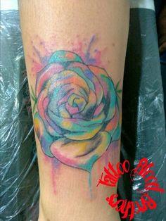 Rosa watercolor.
