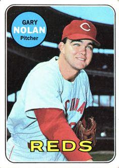 1969 Topps #581 Gary Nolan Front
