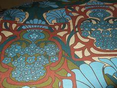 fandango 1970s fabric by David Bartle for Heals