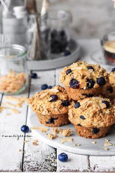Coconut blueberry muffins (vegan & gluten-free) | nm_meiyee