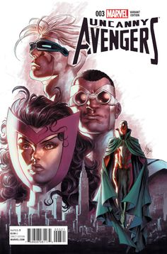 Uncanny Avengers variant cover by Mike Deodato Jr., colours by Frank Martin Uncanny Avengers, Avengers Art, Mike Deodato, Free Comic Books, Comic Book Covers, Marvel Comics Art, Marvel Dc, Cosmic Comics, Avatar