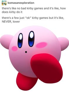 It's cause he's got maximum pink.