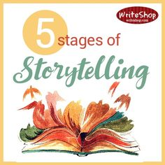 Teach students the 5 stages of storytelling: Context, conflict, climax, closure, and conclusion.