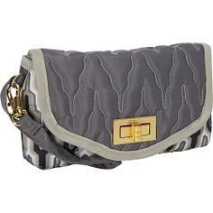 cinda b Uptown Wristlet Empire Slate - cinda b Manmade Handbags
