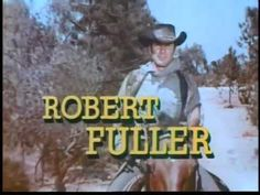 """""""Laramie"""" with John Smith and Robert Fuller. Western Film, Great Western, Western Theme, Western Movies, Laramie Tv Series, Robert Fuller Actor, Tv Theme Songs, Tv Themes, Tv Westerns"""