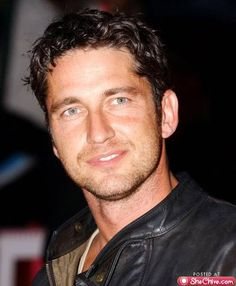 Gerald Butler - yes......anytime!