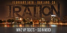 Enter to win 2 VIP Packages to see Iration February 14th in Oakland, CA at The Fox Theatre + $50 in Iration Merch. Enter at http://irationmusic.com/talesfromthesea_oakland