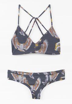 Boys + Arrows Birds of Prey Bikini #boysandarrows
