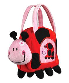 Take a look at this Ladybug Blankie Buddy & Tote by Stephen Joseph on #zulily today!