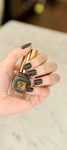 Pure Color Nail in Dark Desire #ManiMonday